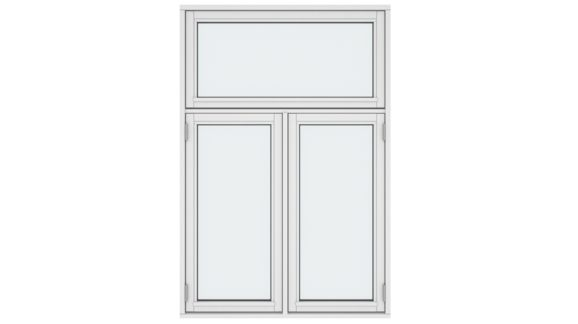 Casement Windows Two Opening Sashes
